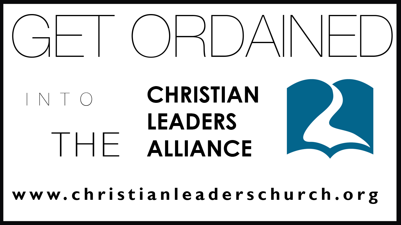 Learn More About Christian Leaders Ordinations